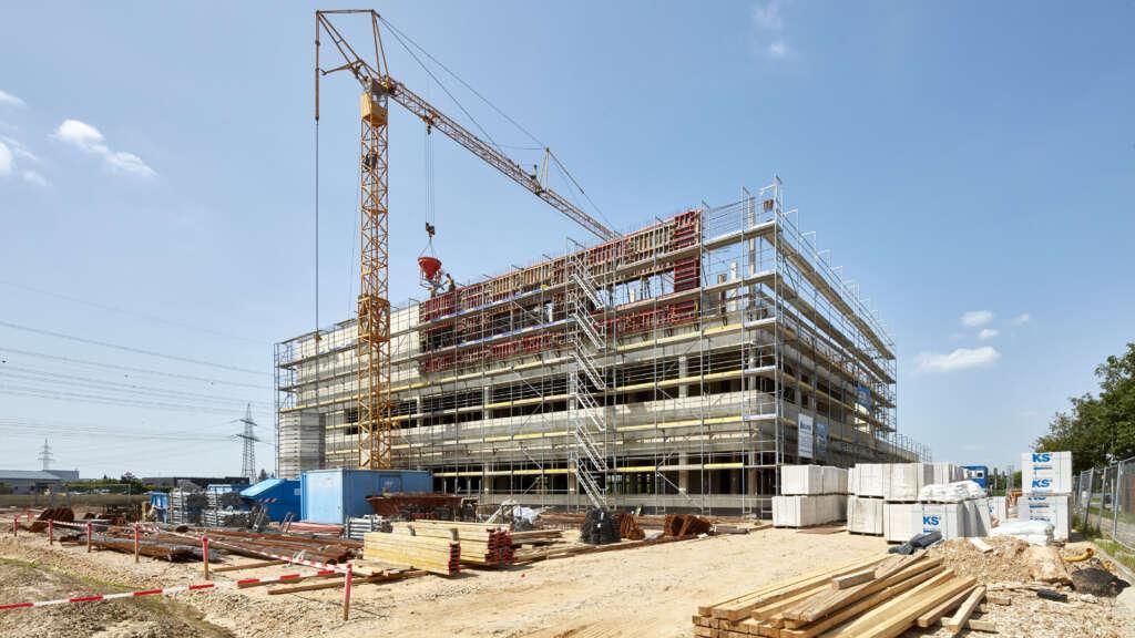 Neubau Labor- und Bürogebäude